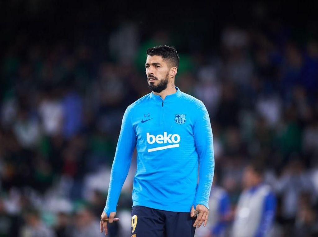 Barcelona Pastikan Musim Suarez Sudah Selesai