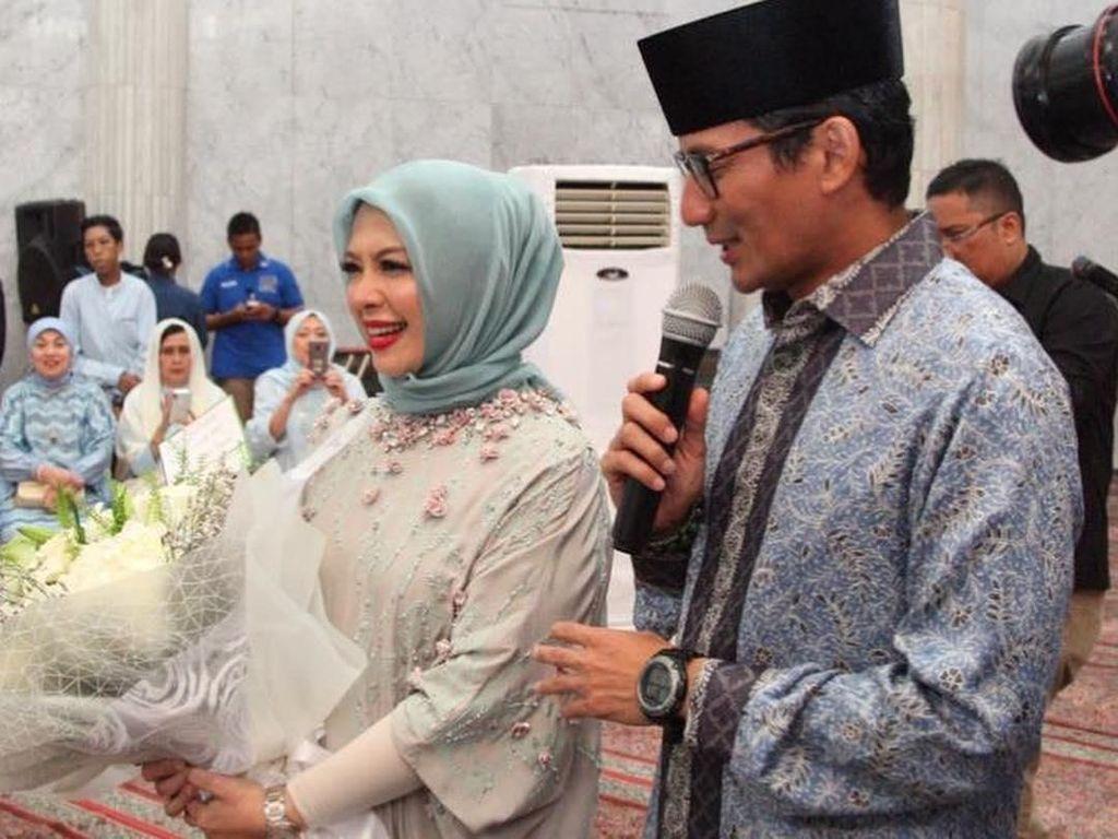 Cerita Nur Asia Uno Dampingi Sandiaga Uno Keliling Indonesia