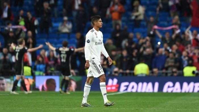 Pemain Real Madrid, Raphael Varane. (Foto: Denis Doyle/Getty Images)