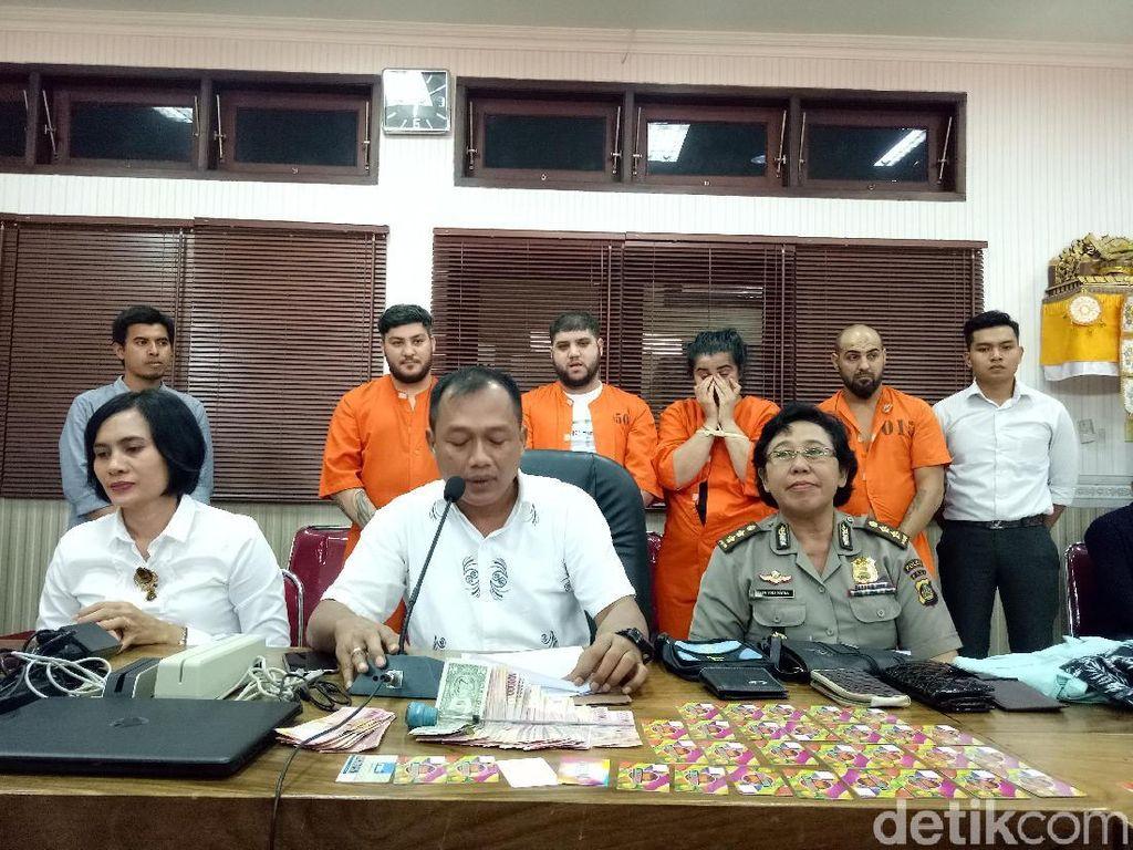 Bobol Rekening Turis di Bali, 4 WNA Rumania Ditangkap