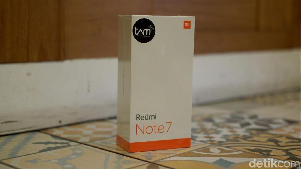 Unboxing Redmi Note 7 Buatan Indonesia
