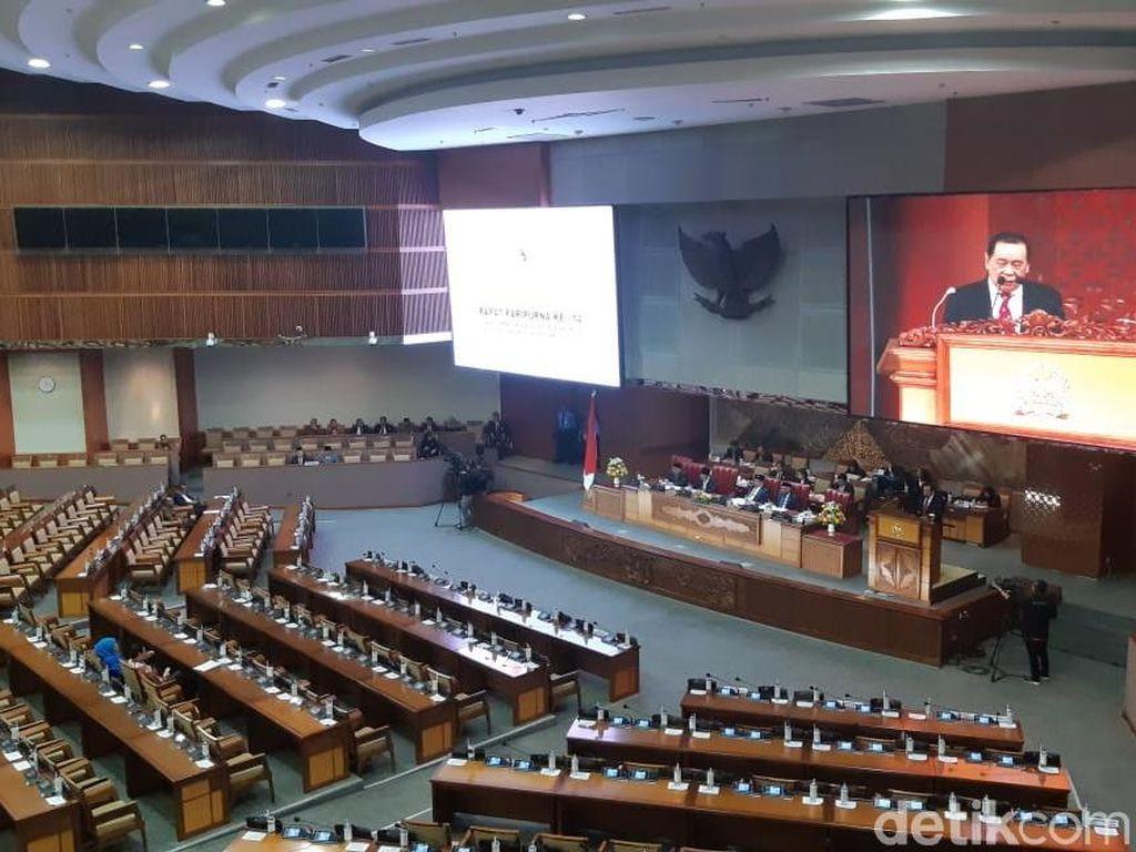 Di Paripurna DPR, Anggota Dewan Doakan Korban Teror Selandia Baru