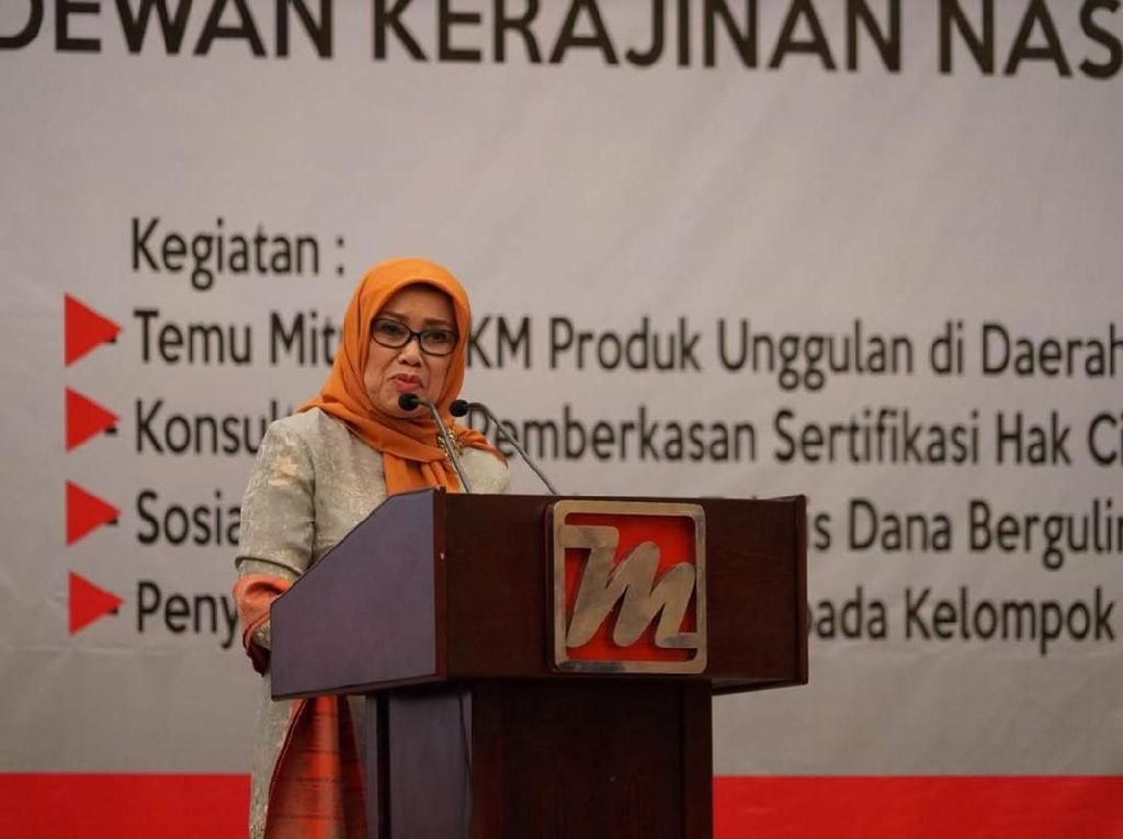 Mufidah Kalla Minta Perajin Berinovasi dan Tingkatkan Daya Saing Global