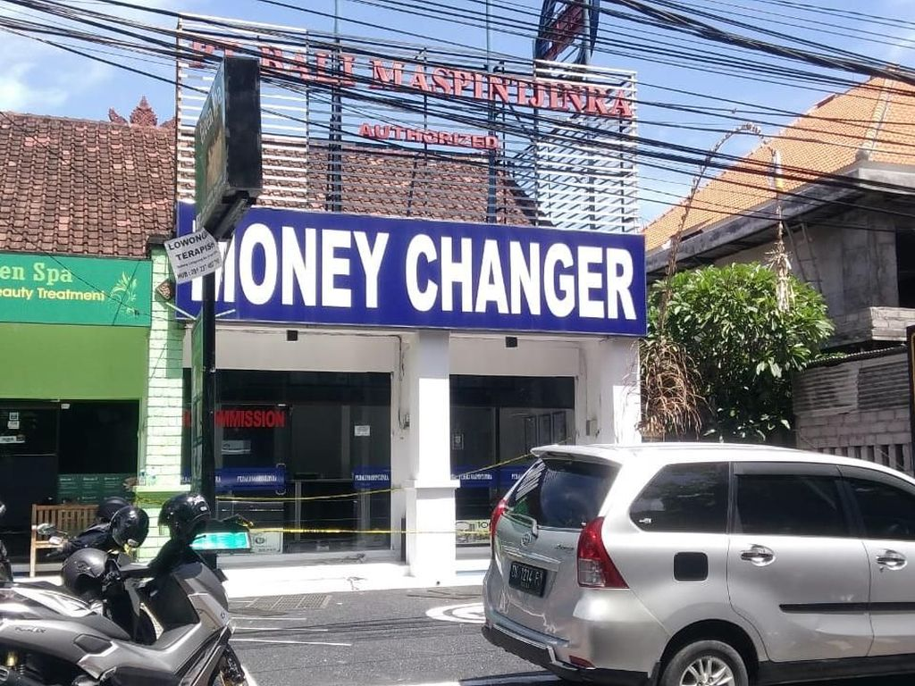 Money Changer di Benoa Bali Disatroni Maling, Duit Rp 900 Juta Raib