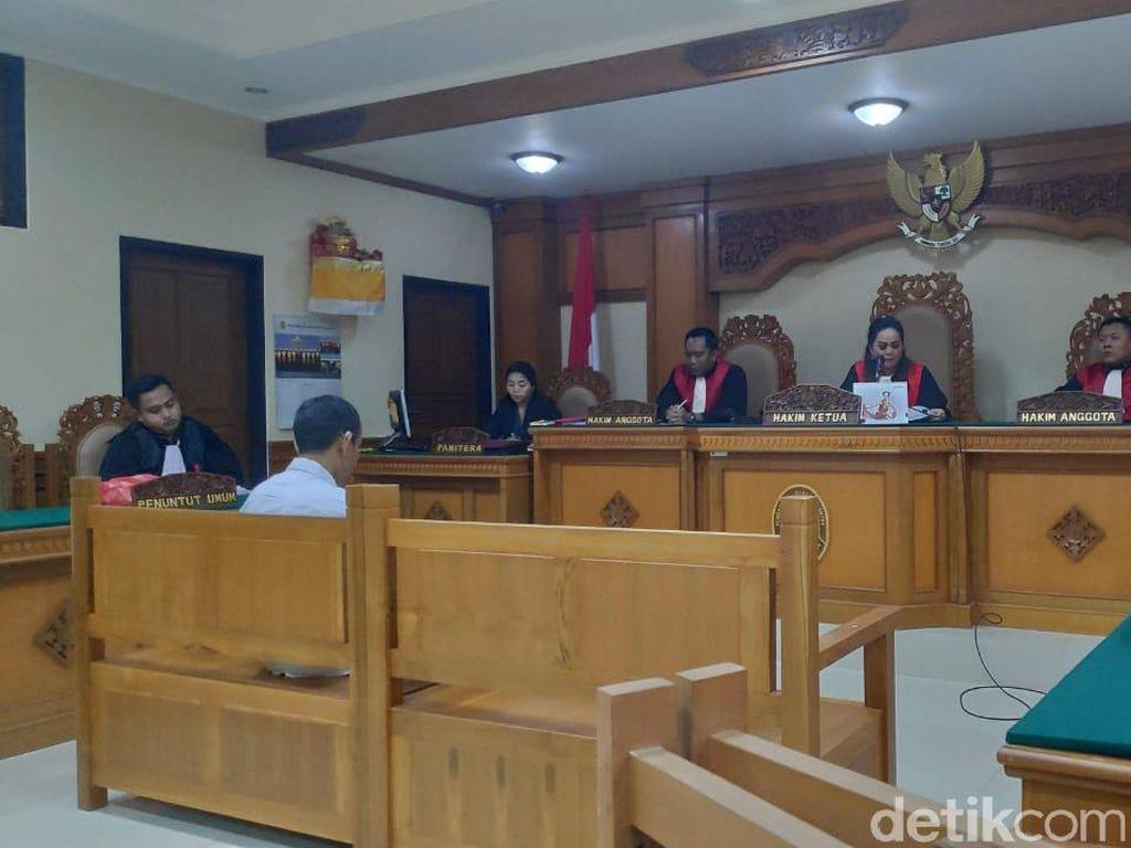 Pengedar Sabu di Gianyar Dihukum 20 Tahun Penjara