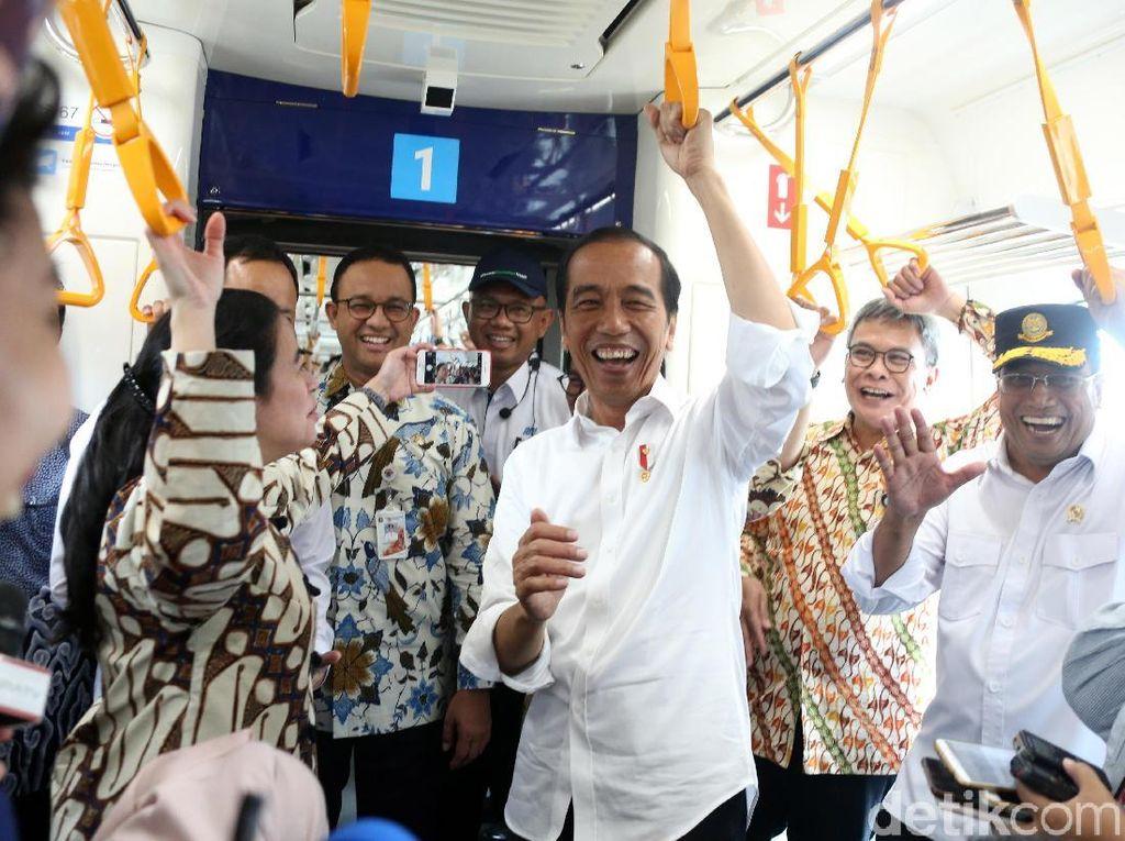 Soal Subsidi Tarif MRT Jakarta, Jokowi: APBD DKI Gede