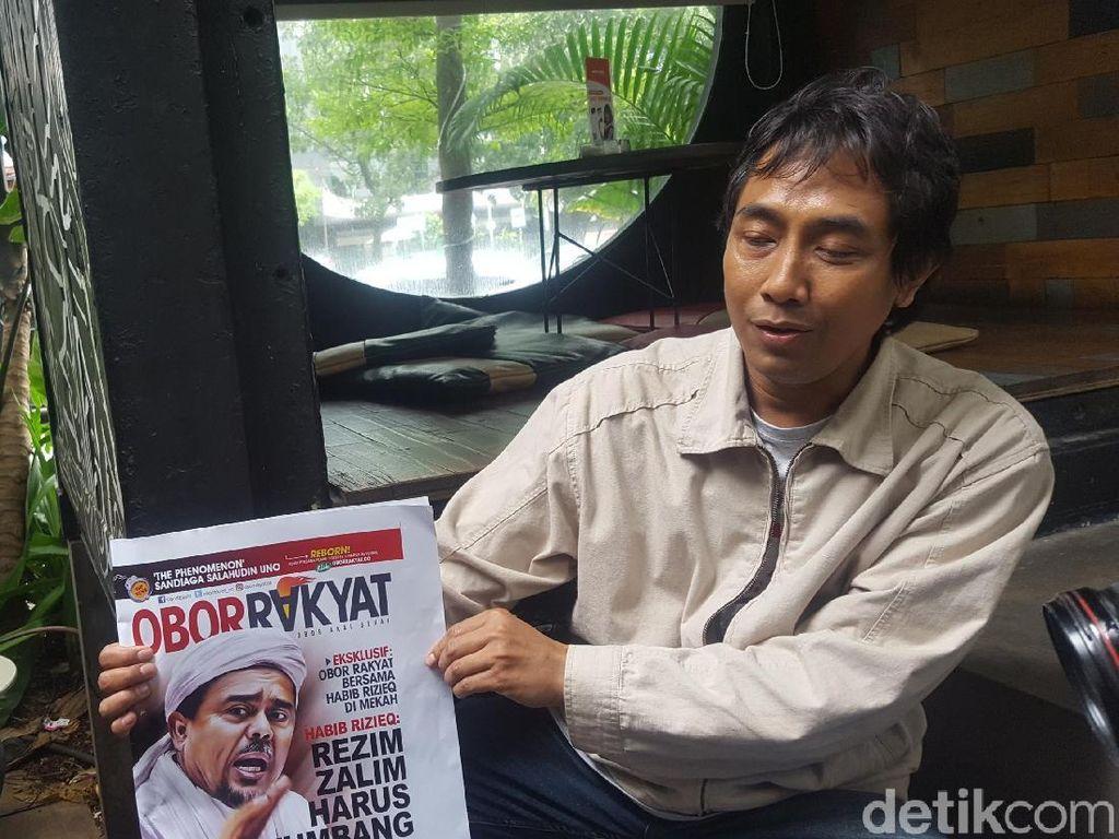 Spanduk Launching Dicopot Paksa, Redaksi Obor Rakyat Ogah Lapor Polisi