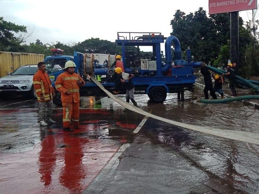 Banjir di Bandung, Pengendara Diimbau Waspadai Sisa Lumpur