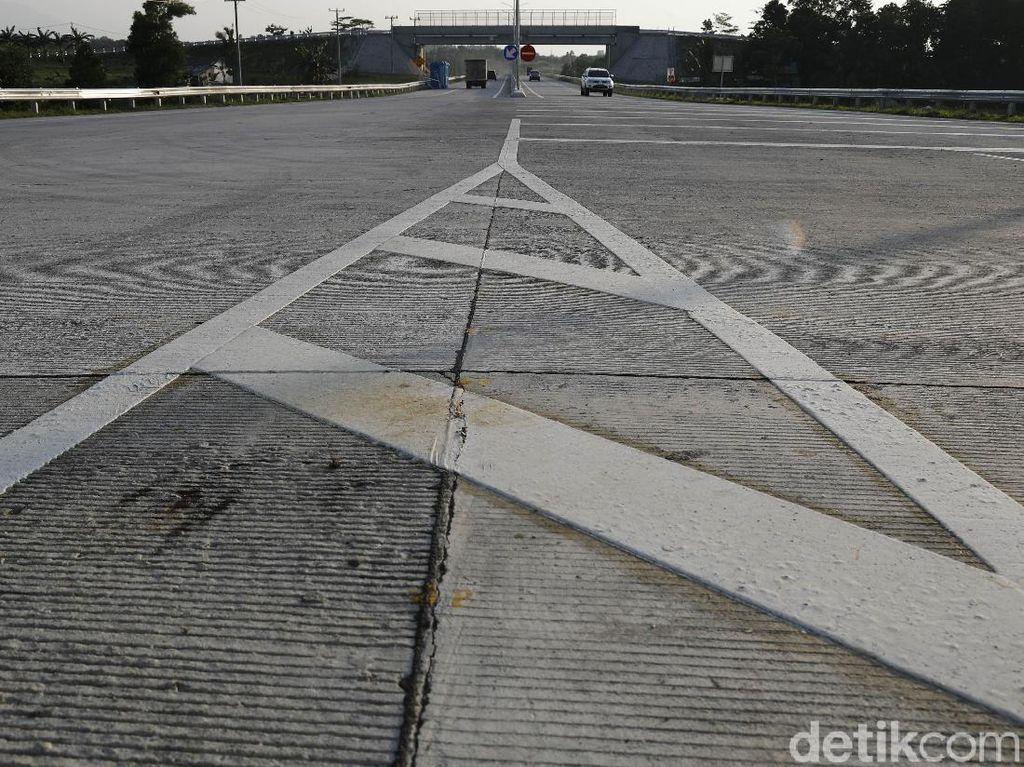 Terjadi Kepadatan di Gerbang Tol Trans Sumatera, Bakauheni Selatan