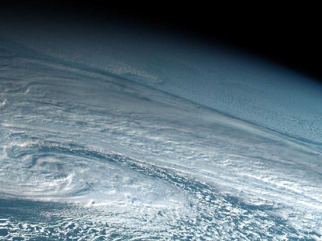 NASA Laporkan Ledakan Meteor 1.360 Ton di Atas Laut Bering