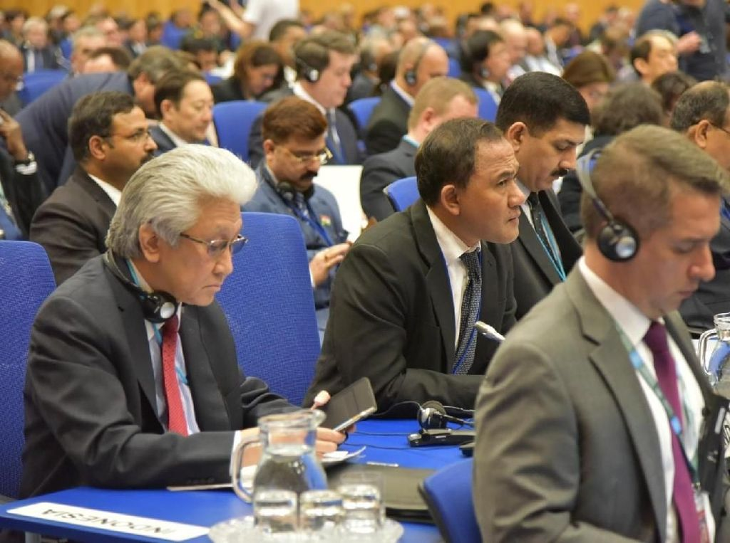 Di Forum PBB, RI Bicara Penegakan Hukum Tegas untuk Kejahatan Narkoba