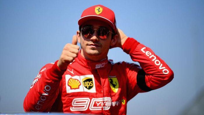 Debut Charles Leclerc dengan Ferrari mendapat pujian. (Foto: Clive Mason / Getty Images)