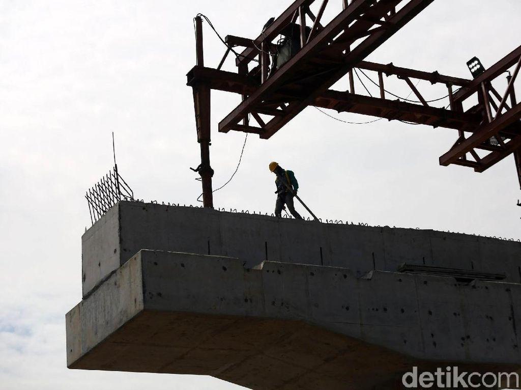 Pembangunan Tol Becakayu Seksi 2A Terus Digenjot