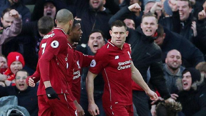Liverpool unggul head to head atas Spurs. (Hannah McKay/Reuters)
