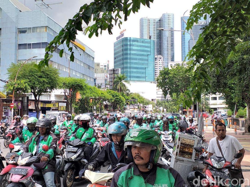 Polisi Jamin Tidak Ada Aksi Sweeping dalam Demo Ojol di Surabaya