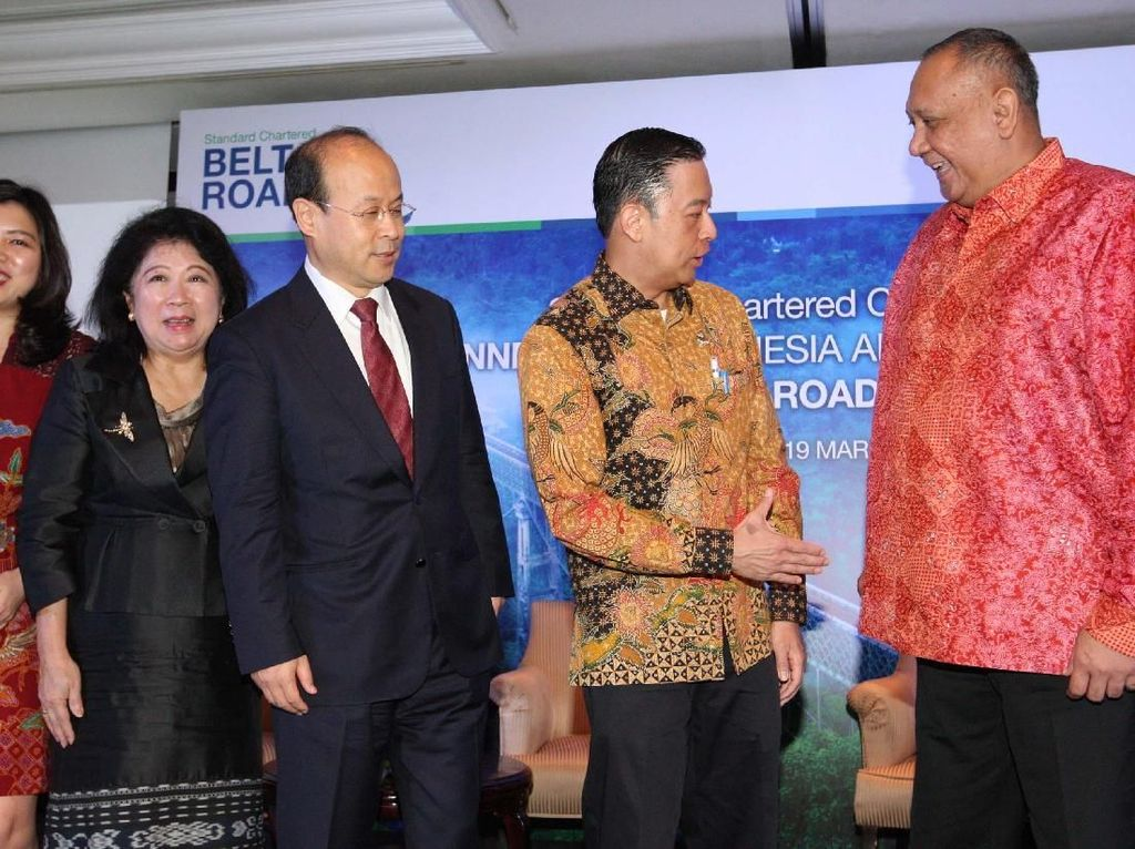 Dorong Inisiatif Belt & Road Indonesia-China