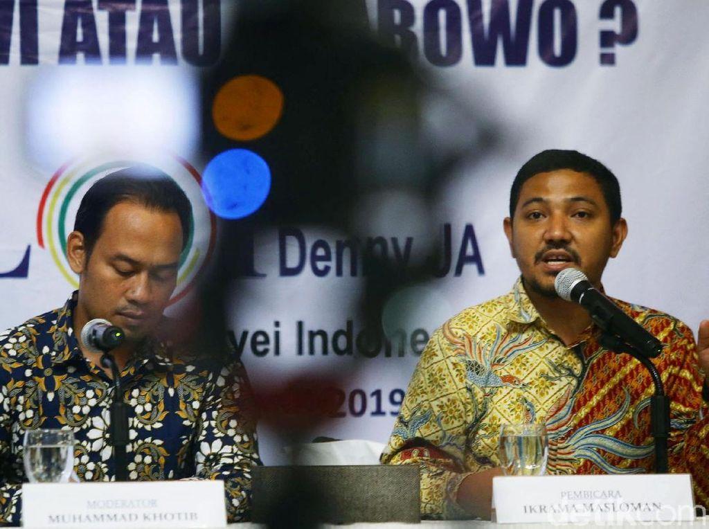 Pilpres Makin Dekat, LSI Denny JA Bahas Golput