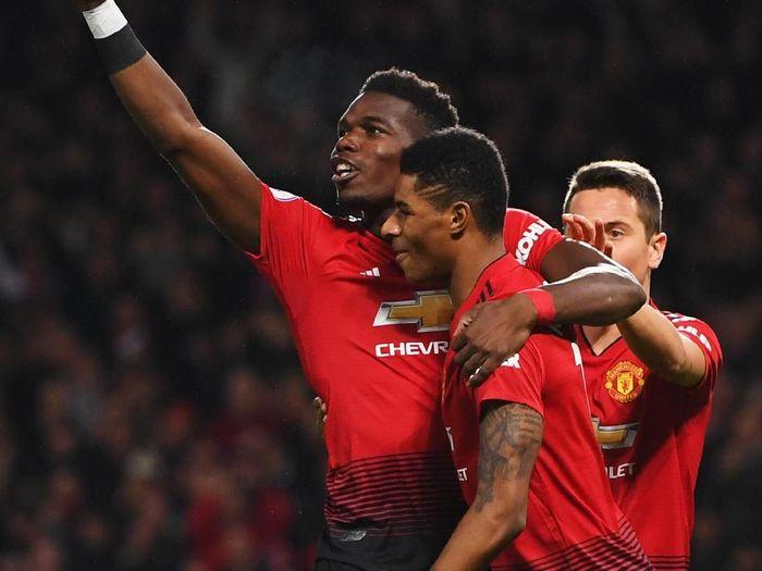 Paul Pogba dan Marcus Rashford adalah masa depan Manchester United (Michael Regan/Getty Images)