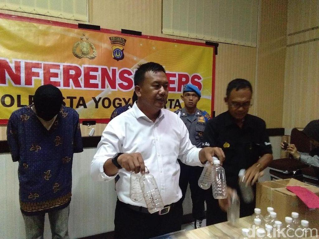 2 Penjual Ciu Maut yang Tewaskan 6 Warga Yogya Ditangkap