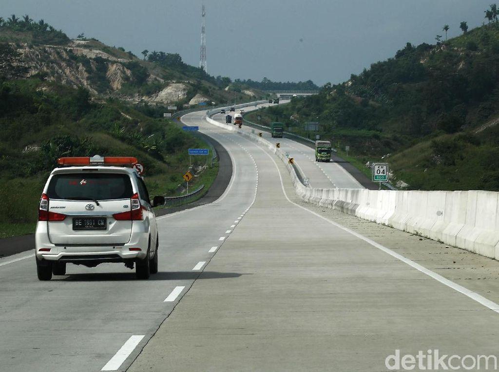 Menjajal Tol Trans Sumatera, Tol Terpanjang yang Diresmikan Jokowi