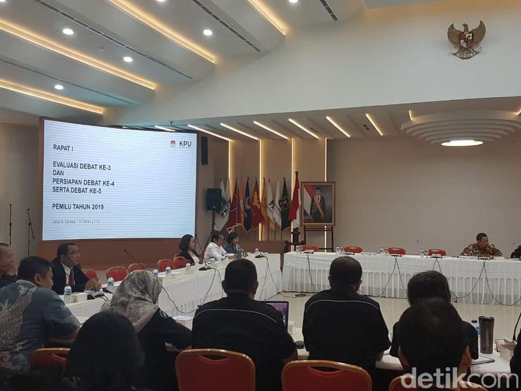 KPU Gelar Rapat Evaluasi Debat Cawapres dan Persiapan Dua Debat Terakhir