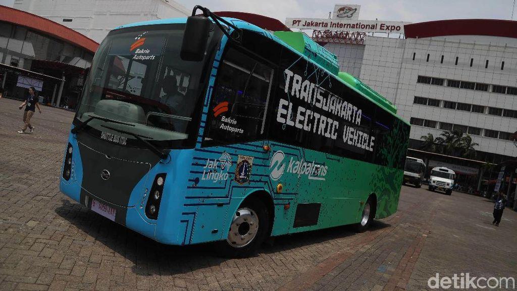 Calon Bus Listrik Transjakarta