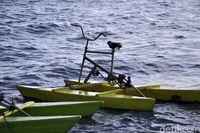 Sepeda yang digunakan (Abdy/detikcom)