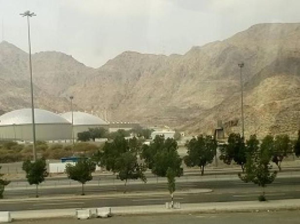 Fasilitas Mewah Tenda Haji Khusus Maktour di Arafah
