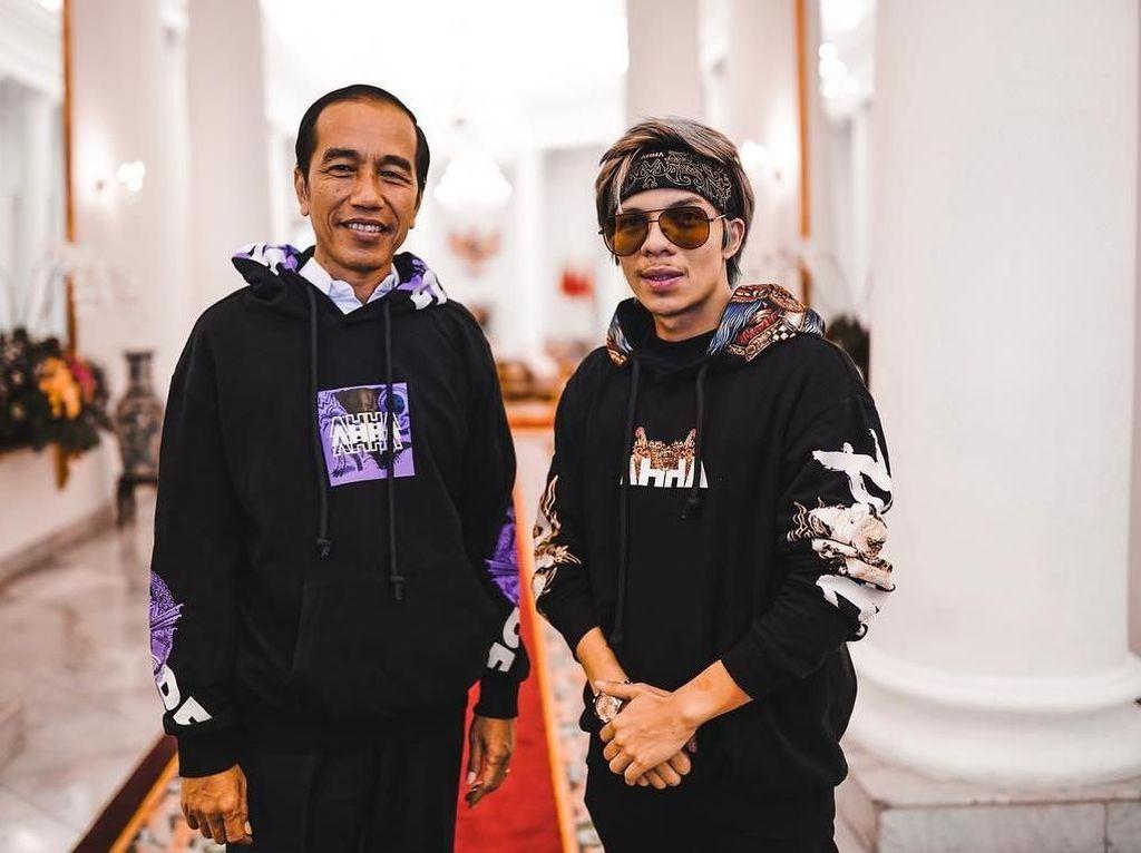 Ditanya Atta Halilintar Kapan Pegang Handphone, Ini Jawaban Jokowi