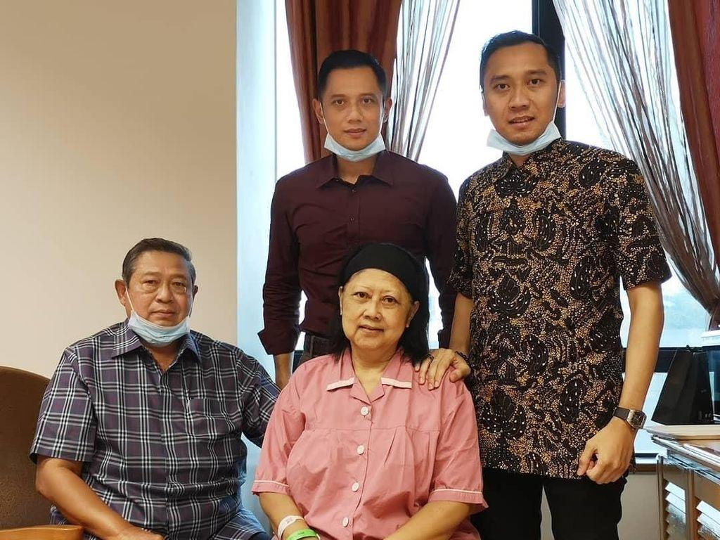 Sudah 3 Hari Ani Yudhoyono Dirawat di ICU, Keluarga Lengkap Mendampingi