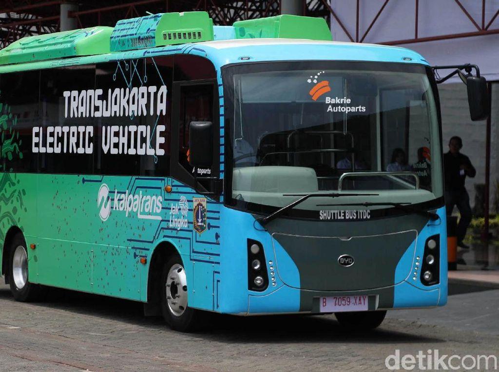 Bus Listrik Asal China Ternyata Sudah Ada Part Lokalnya