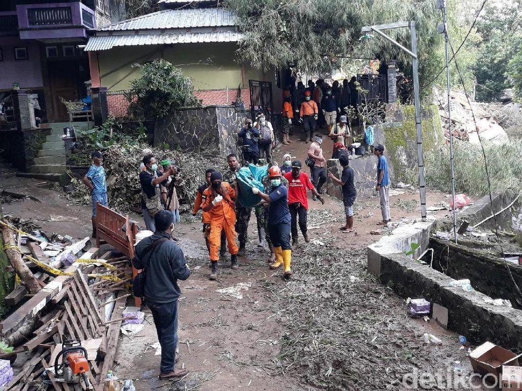 Pencarian Hari Ke-3, 1 Korban Tanah Longsor di Bantul Ditemukan