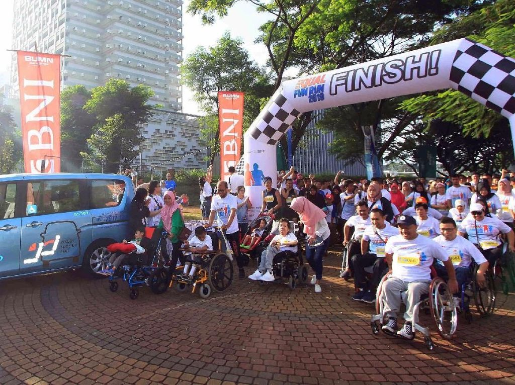 Intip Keseruan Equal Fun Run 2019