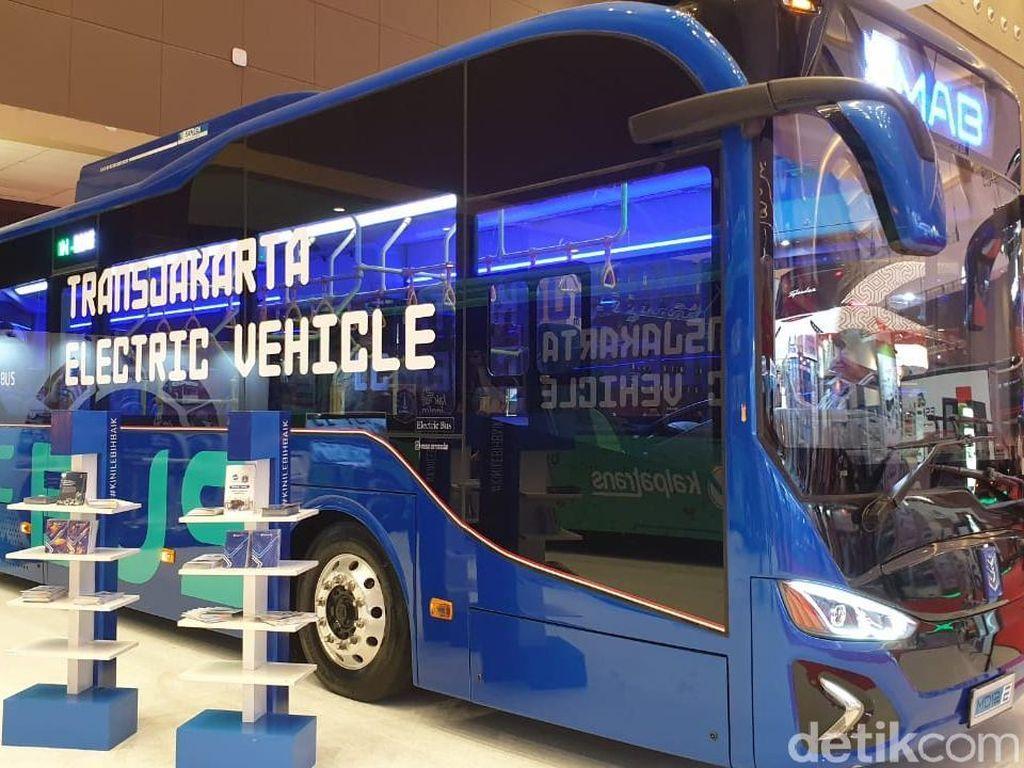 Keren! Ini Calon Bus Listrik Transjakarta