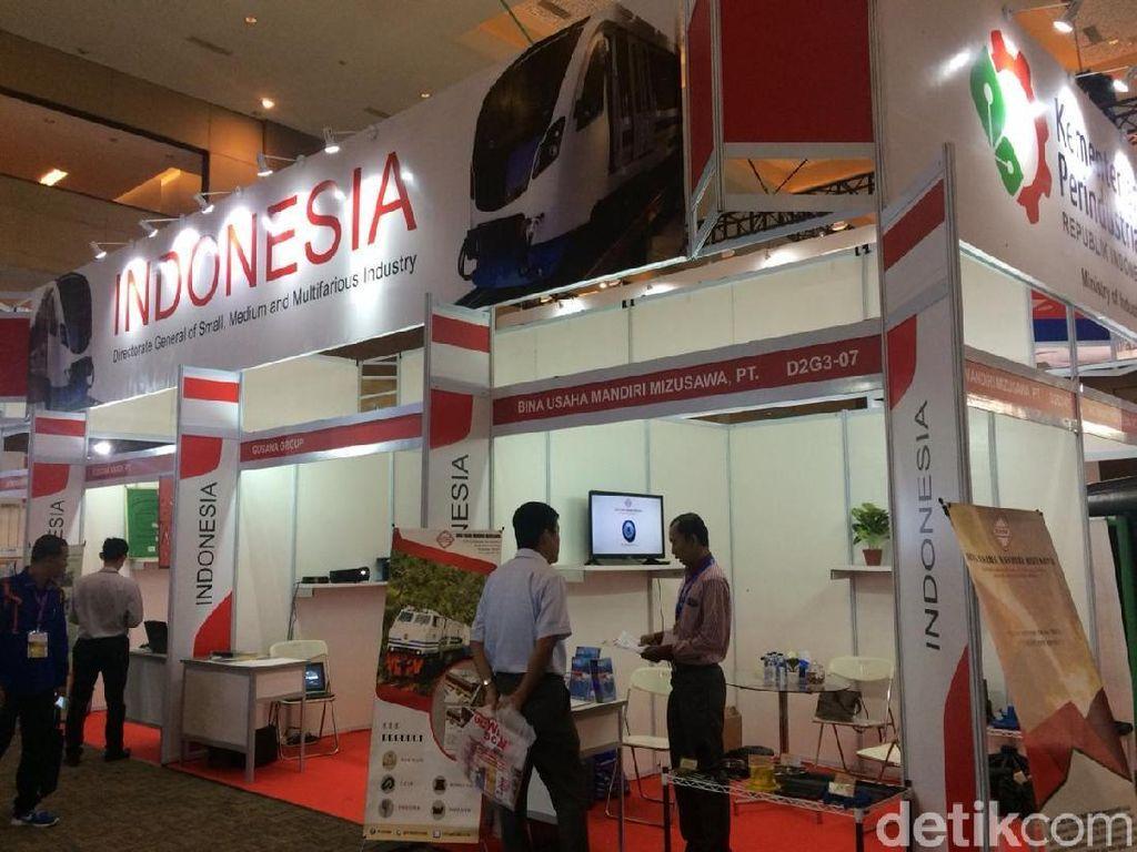 1.100 Perusahaan Mejeng di Pameran Kereta dan Otomotif Terbesar se-ASEAN