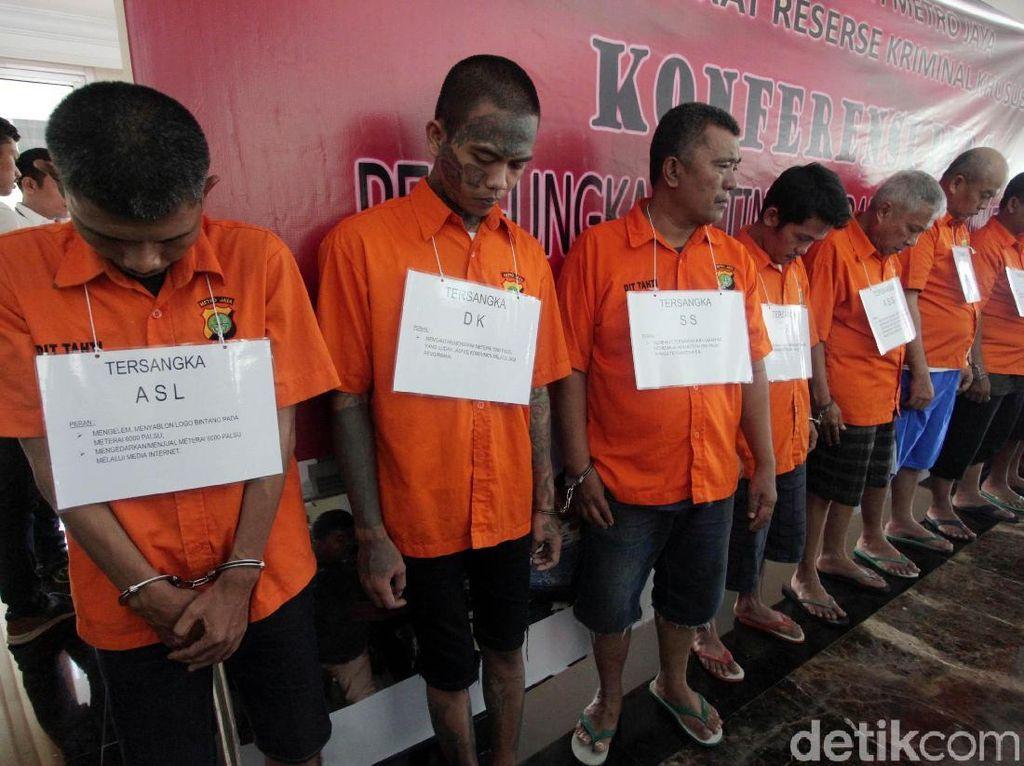 Polisi Bekuk Komplotan Pemalsu Materai
