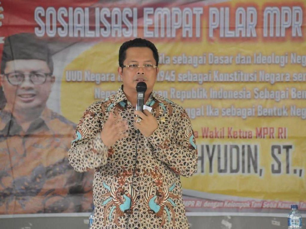 Wakil Ketua MPR Ajak Masyarakat Kutai Kartanegara Tak Golput