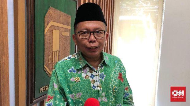 Sekjen PPP Arsul Sani di DPP PPP, Menteng Jakarta