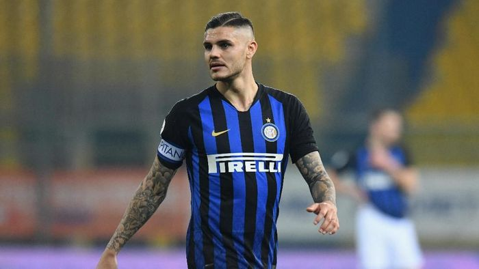Pemain Inter Milan, Mauro Icardi. (Foto: Alessandro Sabattini/Getty Images)