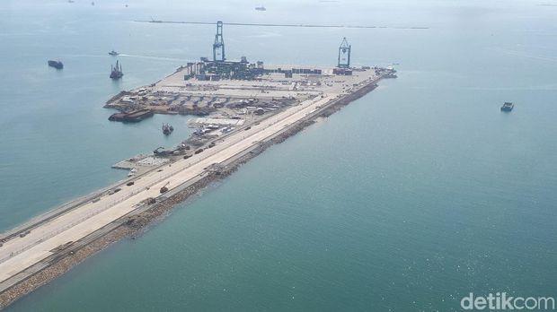 Menhub Cek Proyek Makassar New Port yang Mau Diresmikan Jokowi