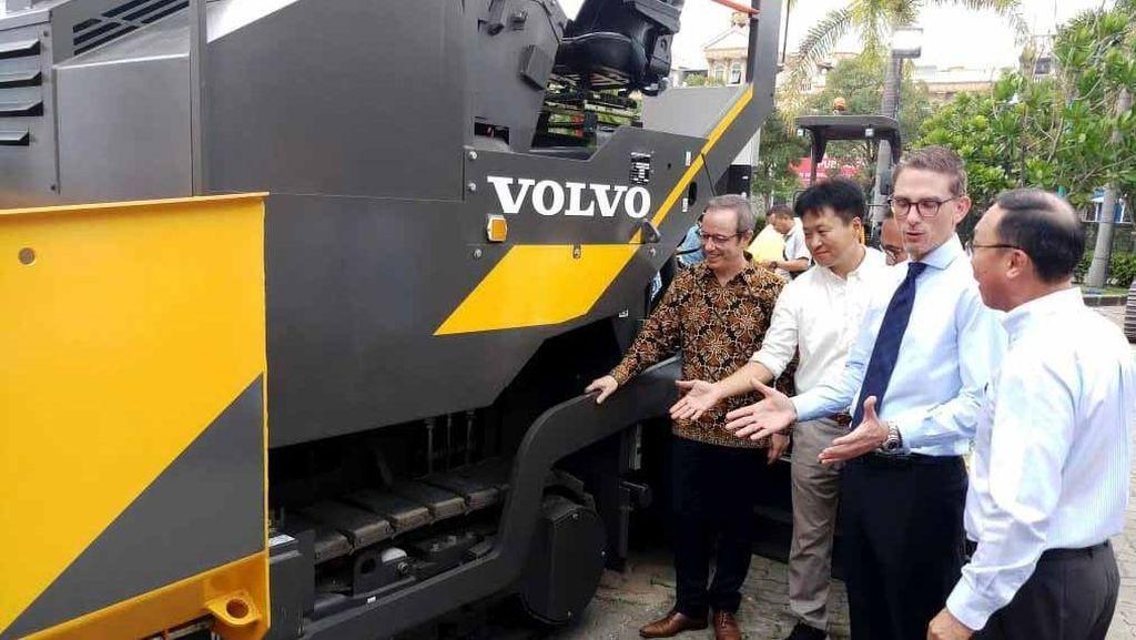 Dorong Infrastruktur Indonesia, Volvo Kenalkan Alat Berat Anyar
