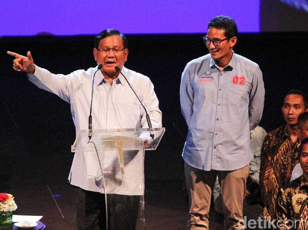 Utang hingga Impor Jadi Peluru Prabowo di Debat Terakhir