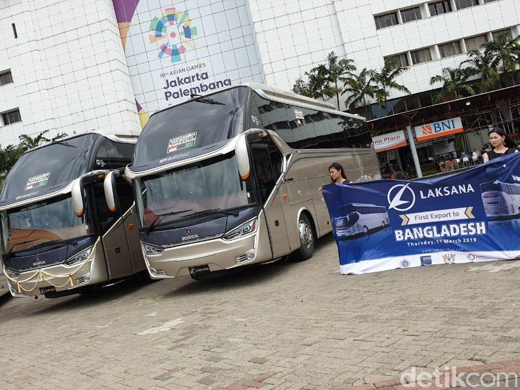 Seharga Rp 2,5 Miliar, Ini Spek Bus yang Diekspor ke Bangladesh