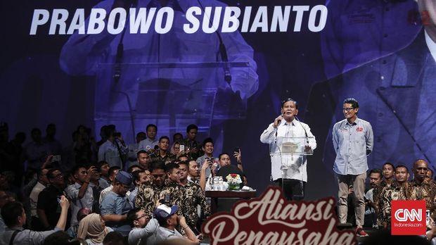 Adu Kuat Dukungan Pengusaha Kubu Jokowi dan Prabowo