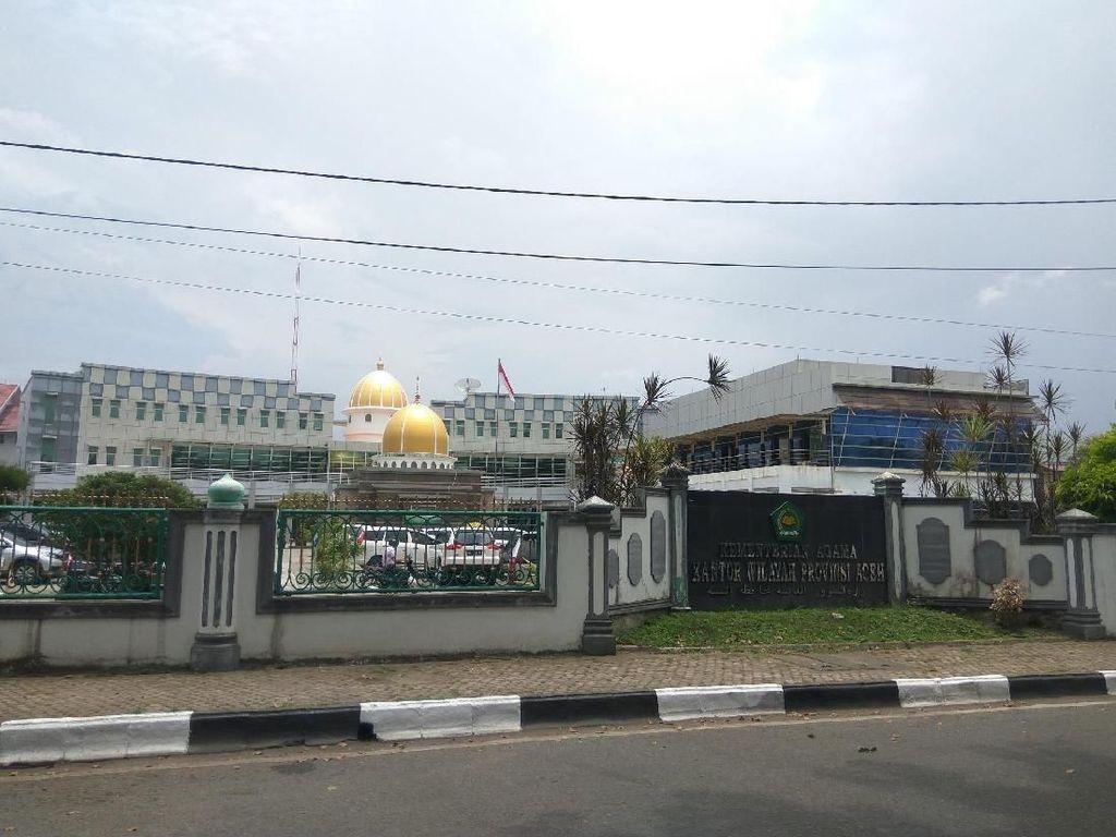 Tersandung Skandal Korupsi, Ini Penampakan Gedung Kemenag Aceh