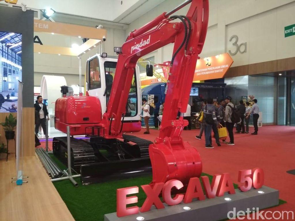 Ekskavator Made in Bandung Siap Dikirim ke Vietnam dan Myanmar