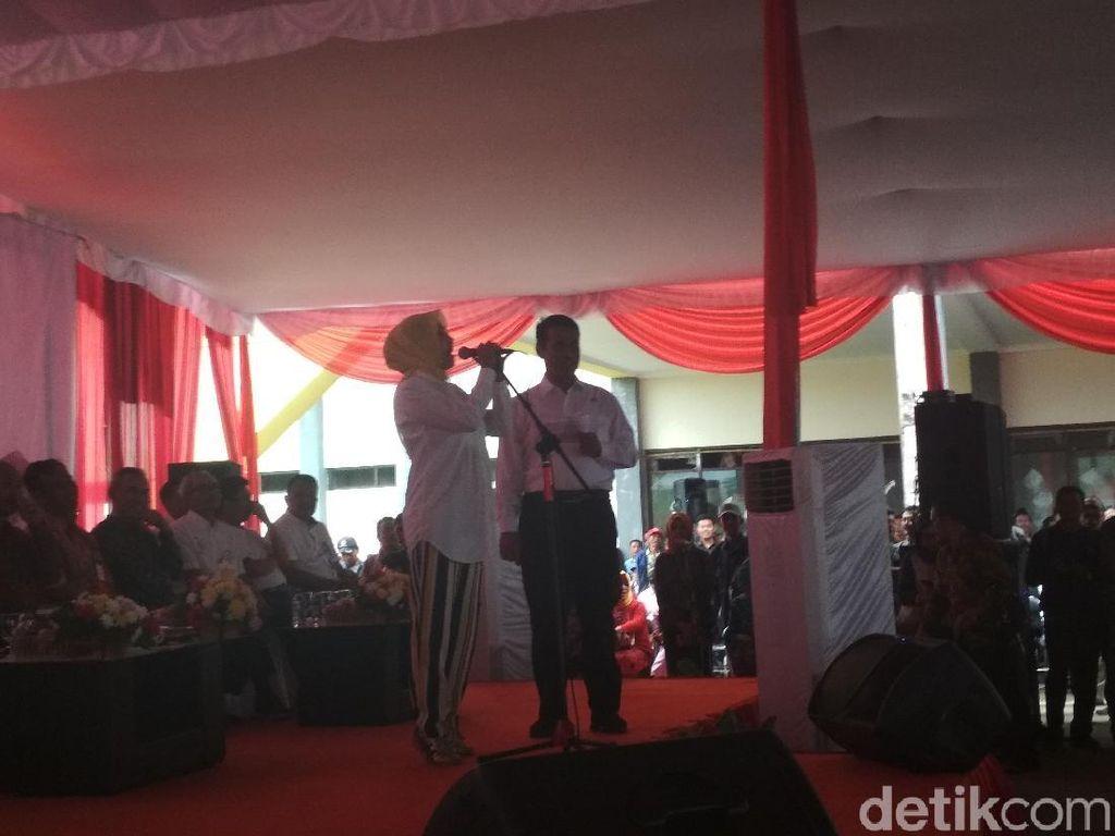 Bawaslu Garut Selidiki Caleg Kampanye di Acara Mentan Amran