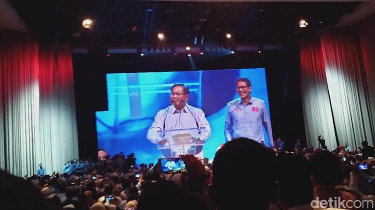 Prabowo: Saya Sadar Bukan yang Terhebat, tapi Saya Tak Mau Menyerah