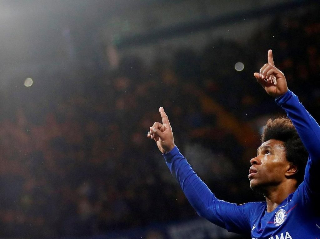 Chelsea Tolak Rp 630 M dari Barcelona dan Atletico untuk Willian