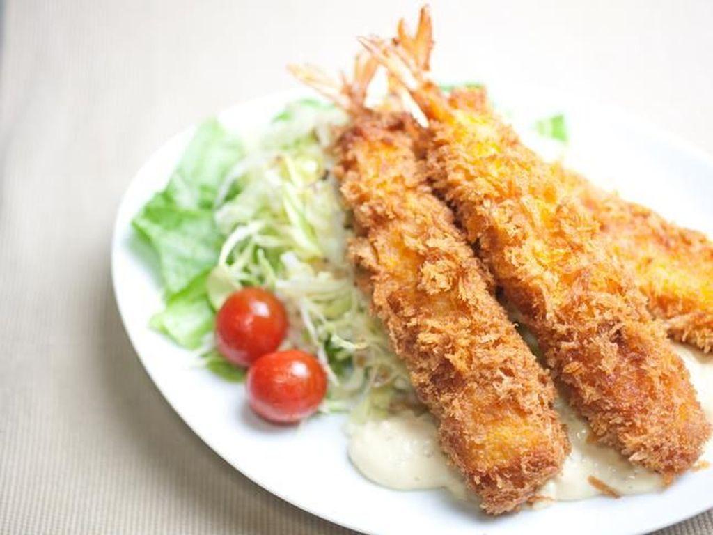 Resep Ebi Tempura ala Restoran Jepang yang Garing Renyah